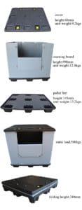 Plastic Foldable Coaming Box